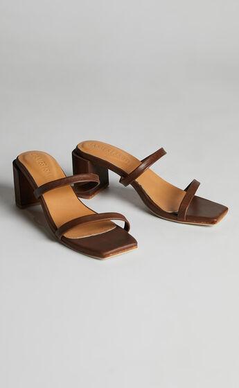 James Smith - Sirenuse Strap Sandal in Vintage Brown
