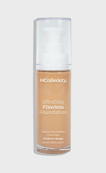 MCoBeauty - Ultra Stay Flawless Foundation in Light/Med Beige