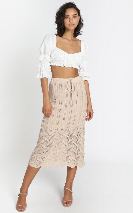 Shakira Skirt in Beige
