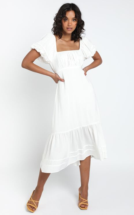 Penelope Dress in White