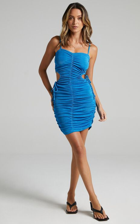 Tirri Dress in Blue