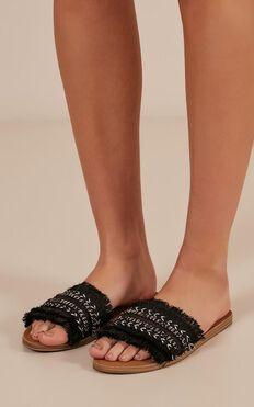 Verali - Tobi Slides In Black