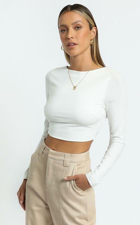 Trina Top in White