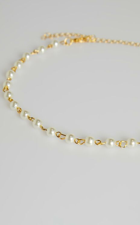 Never Fade Necklace In Pearl