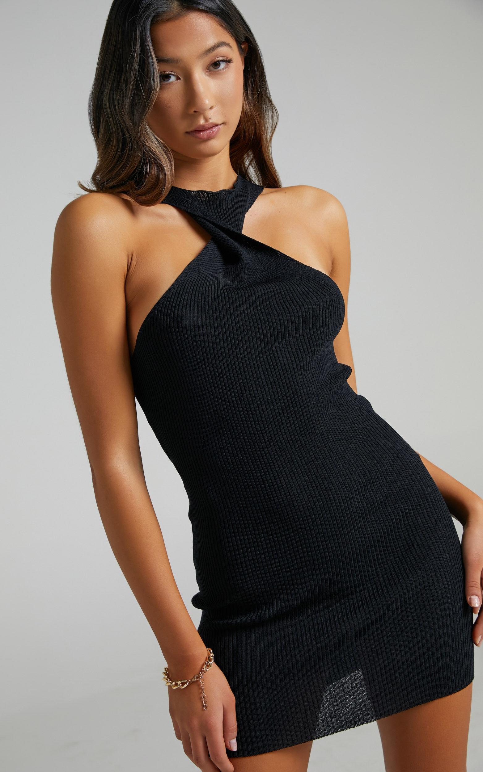 Lioness - Sonny Mini Dress in Black - L, BLK1, super-hi-res image number null