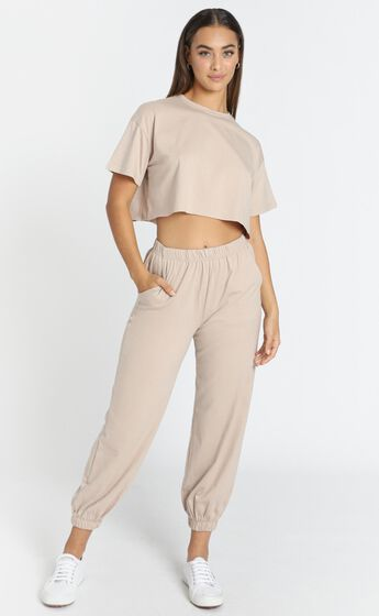 Oakley Two Piece Set in Taupe