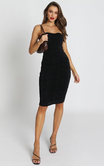 Stay in Touch Dress in black - 20 (XXXXL), Black, hi-res image number null