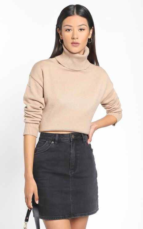 Irvette Knit Jumper in Camel