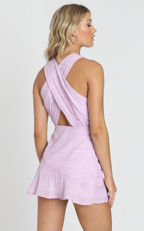 Canterbury Dress in Lilac