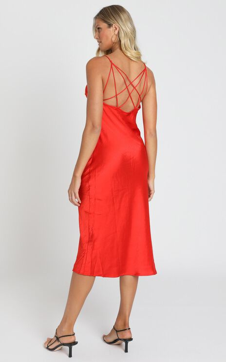 Bristol Dress in Orange