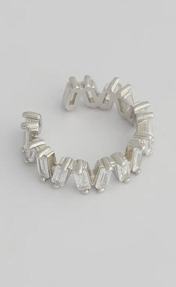 SAINT VALENTINE - BIARRITZ EAR CUFF in Silver