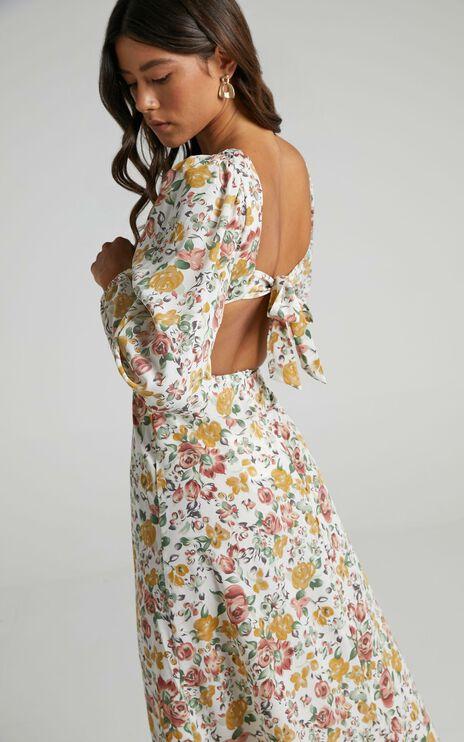 Yvonne Dress in Multi Floral