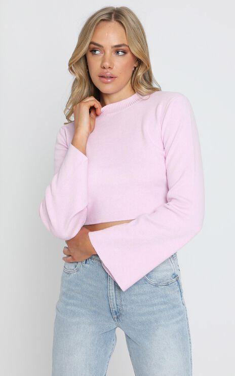 Endless Memories Knit Jumper in Pink