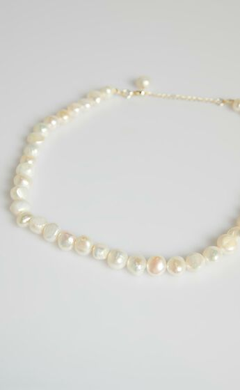 You Are Beautiful Necklace in Pearl