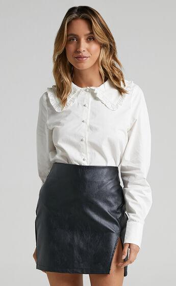 Selah Shirt in White