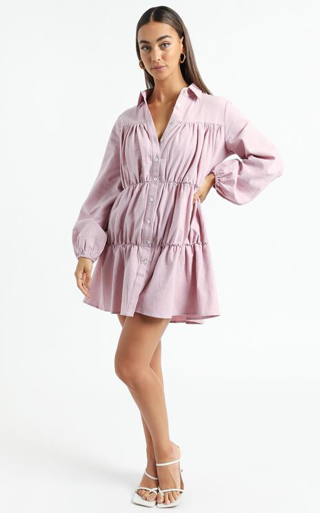 Abhy Dress in Pink