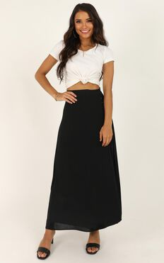 Westside Story Skirt In Black