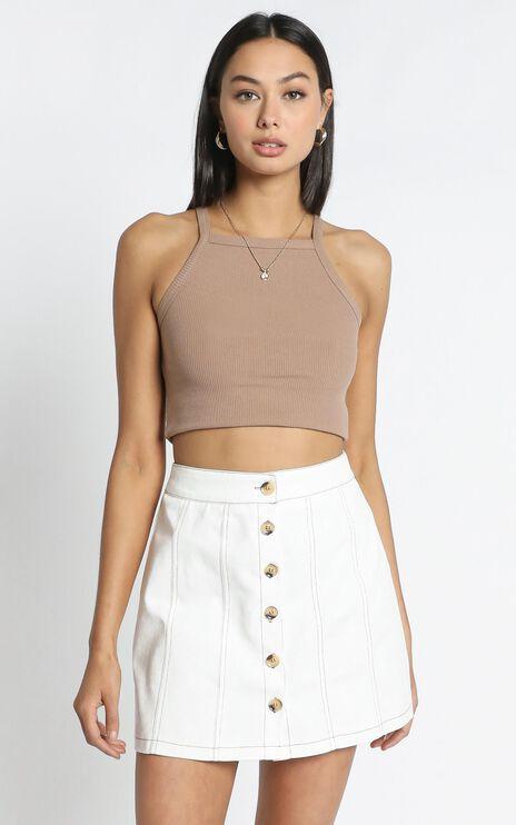 Abbi Skirt in White
