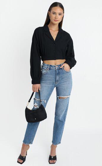 Jaymee Shirt in Black
