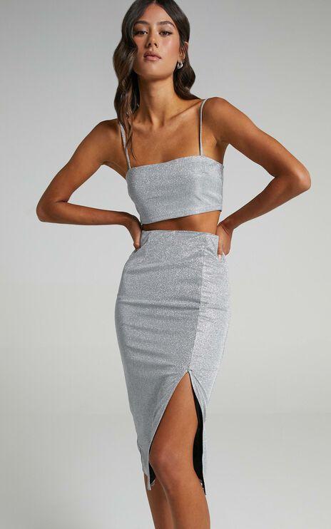 Luisa Skirt in Silver