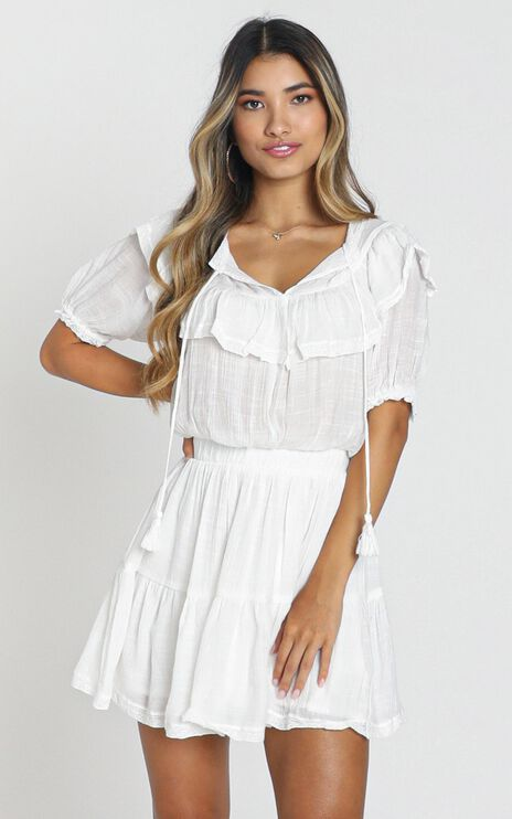 Poughkeepsie Dress in White