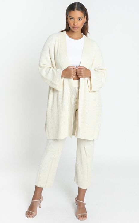 Jeston Cardigan in Cream