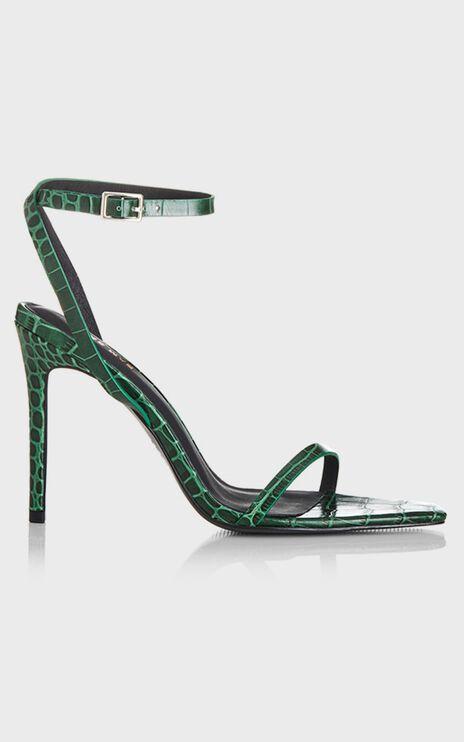 Alias Mae - Isaac Heels in Green Croc