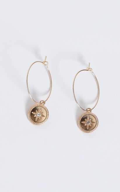 Sicily Sunsets Drop Earrings In Gold, , hi-res image number null