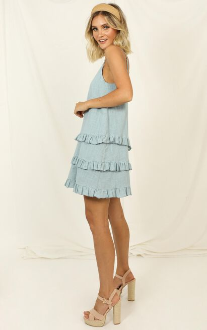 Long Reflections Dress in sage - 20 (XXXXL), Sage, hi-res image number null
