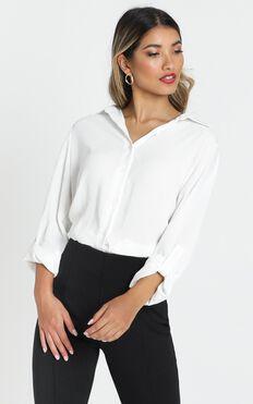 Sabbatical Shirt In White
