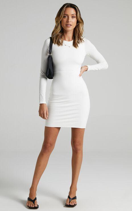 Vulcan Dress in White