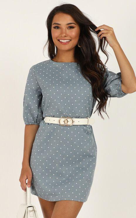 Imagine The Best Dress In Blue Spot