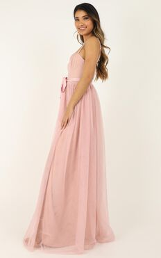 At The Altar Dress In Blush