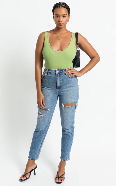 Emilie Bodysuit in Green