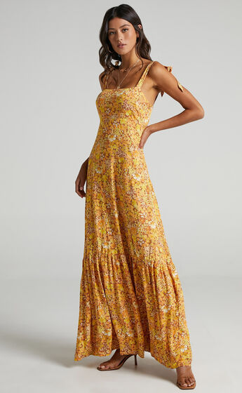 Honor Dress in Rustic Floral
