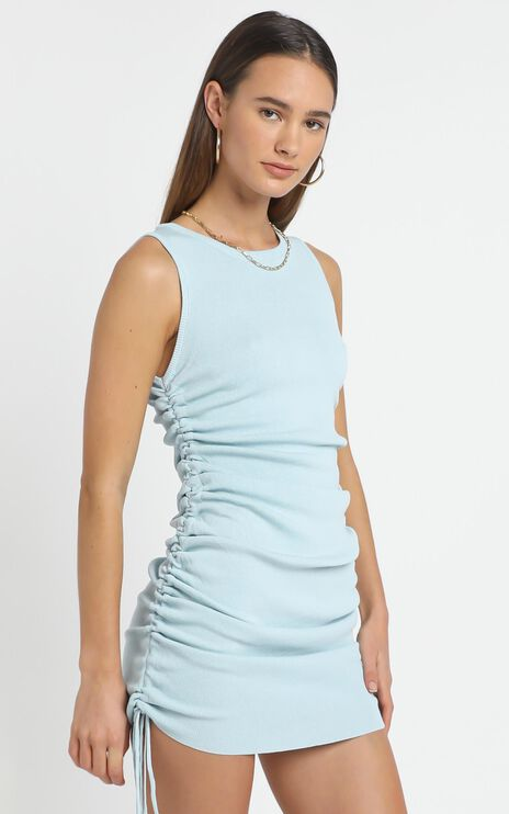 Lioness - Military Minds Dress in Blue