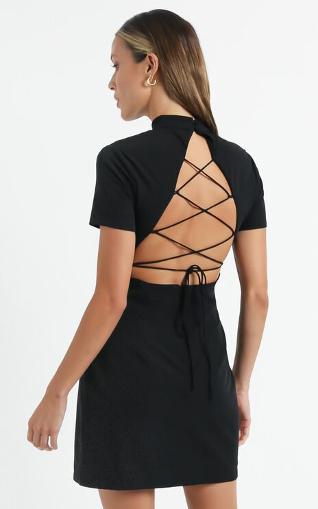 Nemesis Dress in Black