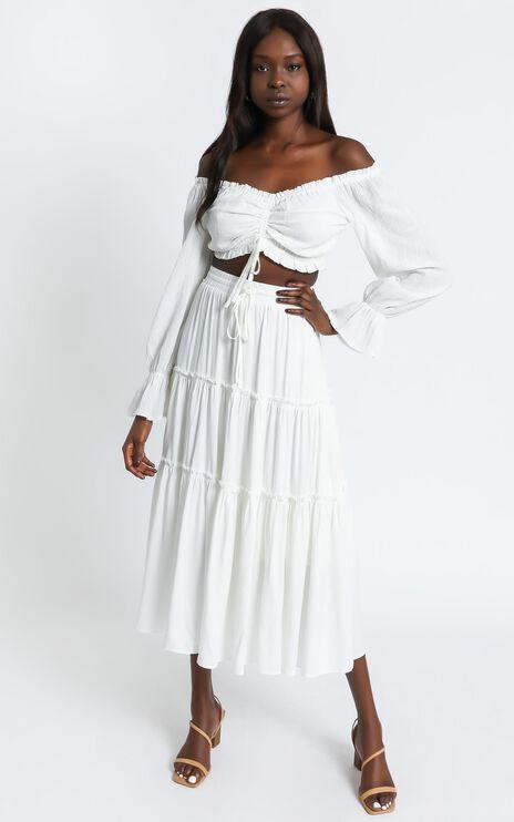 Isolde Skirt in White