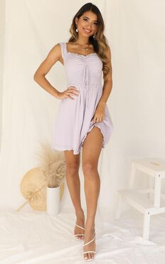 Chill With You Dress In Lilac
