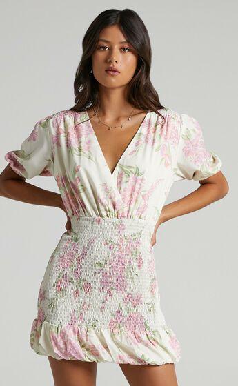 Libra Dress in Floral