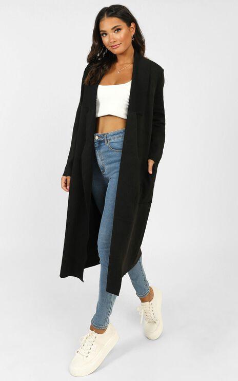 Around The World Coat In Black
