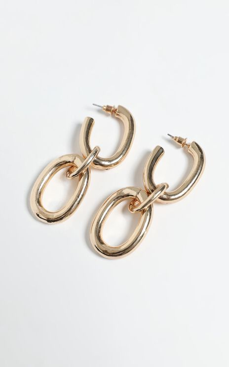 Karianna Earrings in Gold