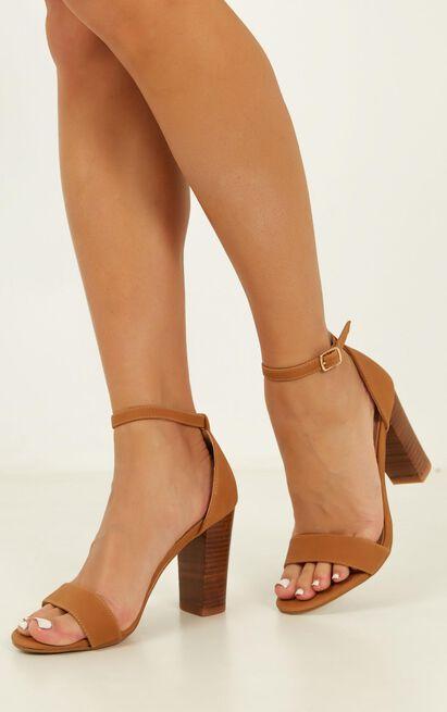 Billini - Aurella Heels in tan nubuck - 5, Tan, hi-res image number null