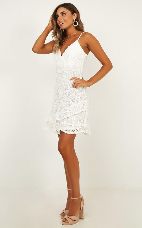 Summer Blitz Dress In White