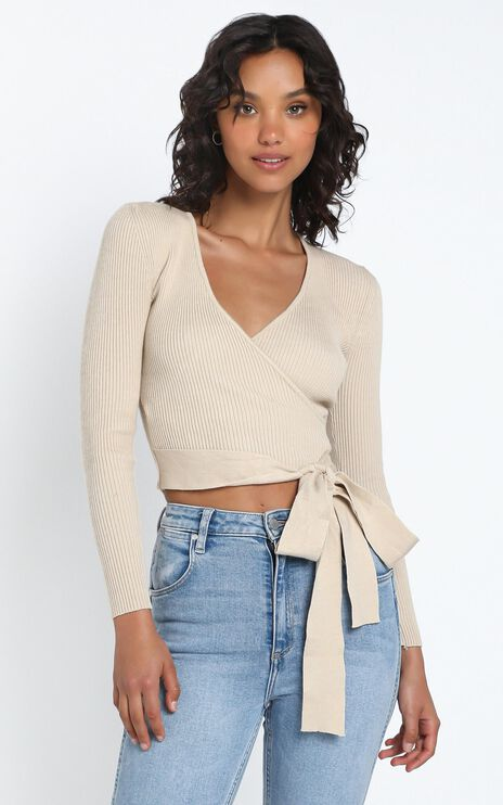 Jamia Knit Top in Cream