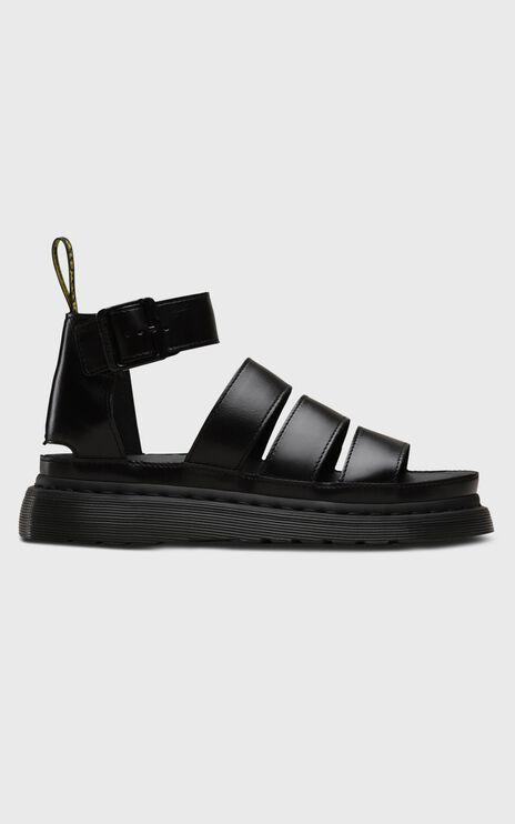 Dr. Martens - Clarissa II Chunky 3 Strap Sandal in Black Brando