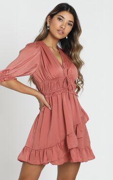Amalie Dress in blush