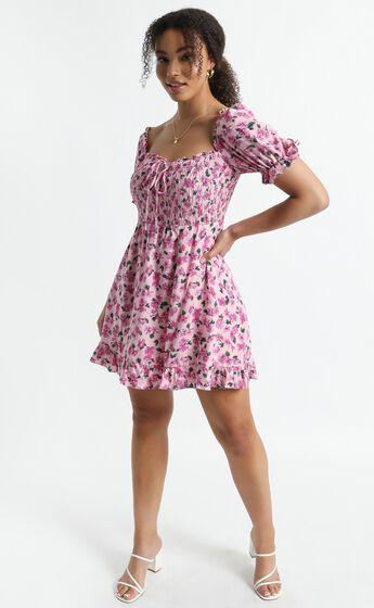 Karma Dress in Lilac Floral