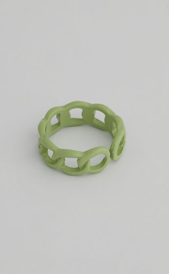 Dixie Chain Ring in Green