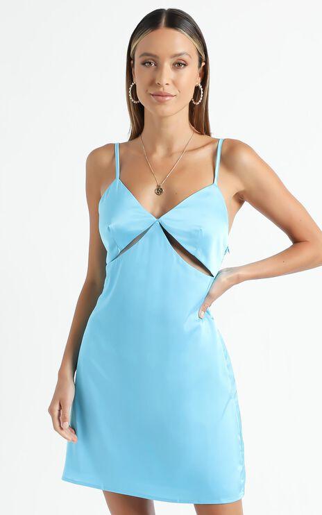 Puglia Dress in Blue